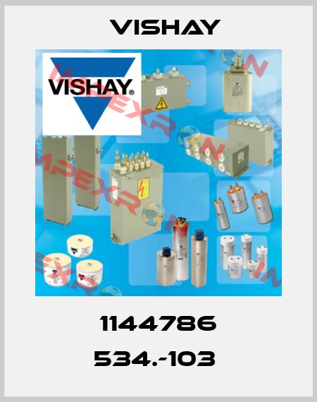 Vishay-1144786 534.-103  price