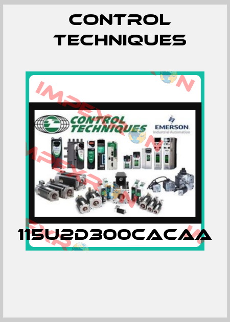 Control Techniques-115U2D300CACAA  price