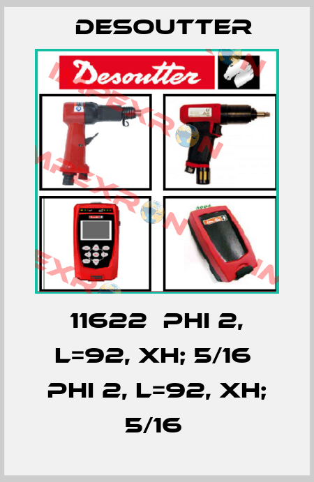 Desoutter-11622  PHI 2, L=92, XH; 5/16  PHI 2, L=92, XH; 5/16  price