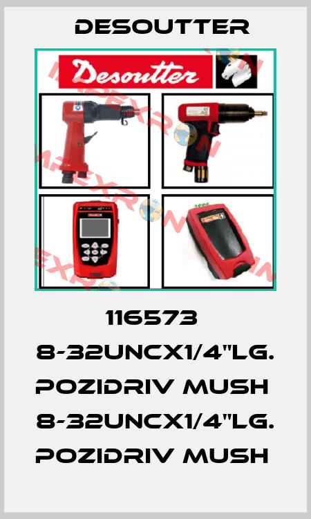 """Desoutter-116573  8-32UNCX1/4""""LG. POZIDRIV MUSH  8-32UNCX1/4""""LG. POZIDRIV MUSH  price"""