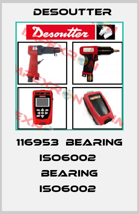 Desoutter-116953  BEARING ISO6002  BEARING ISO6002  price