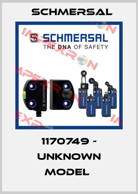 Schmersal-1170749 - UNKNOWN MODEL  price