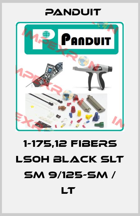 Panduit-1-175,12 FIBERS LS0H BLACK SLT SM 9/125-SM / LT  price