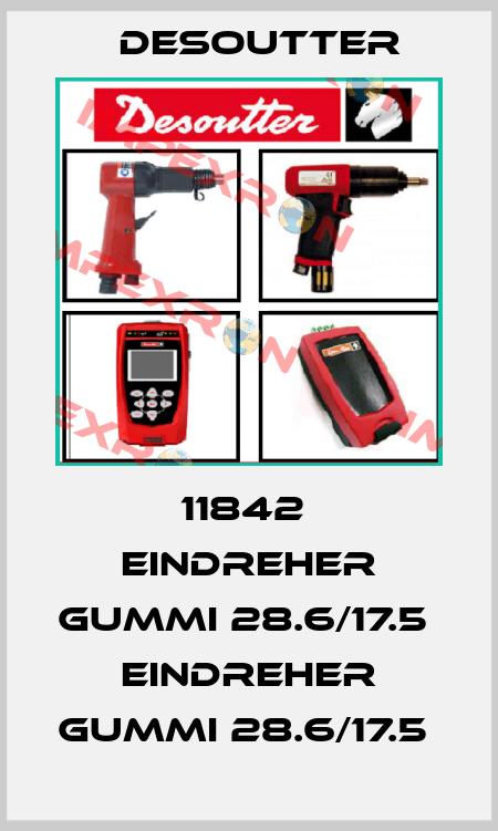 Desoutter-11842  EINDREHER GUMMI 28.6/17.5  EINDREHER GUMMI 28.6/17.5  price