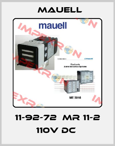 Mauell-11-92-72  MR 11-2 110V DC  price