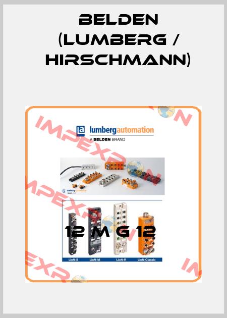 Belden (Lumberg / Hirschmann)-12 M G 12  price