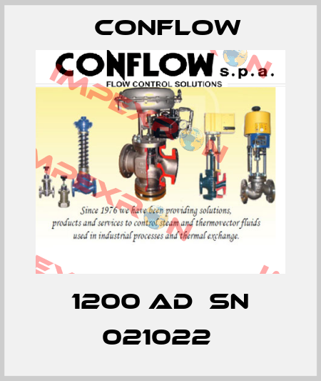 CONFLOW-1200 AD  SN 021022  price