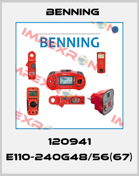 Benning-120941 E110-240G48/56(67)  price