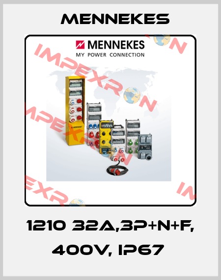 Mennekes-1210 32A,3P+N+F, 400V, IP67  price