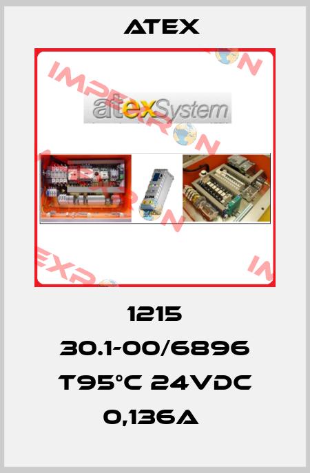 Atex-1215 30.1-00/6896 T95°C 24VDC 0,136A  price
