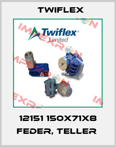 Twiflex-12151 150X71X8 FEDER, TELLER  price