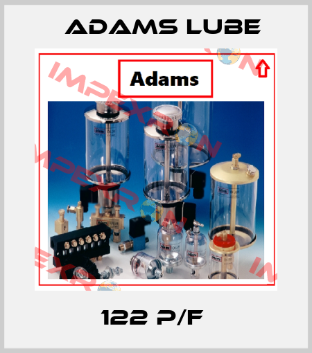 Adams Lube-122 P/F  price