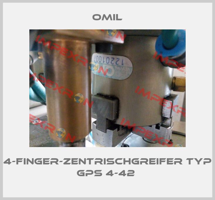Omil-4-Finger-Zentrischgreifer Typ GPS 4-42  price