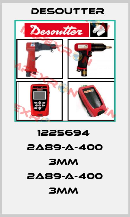 Desoutter-1225694  2A89-A-400 3MM  2A89-A-400 3MM  price